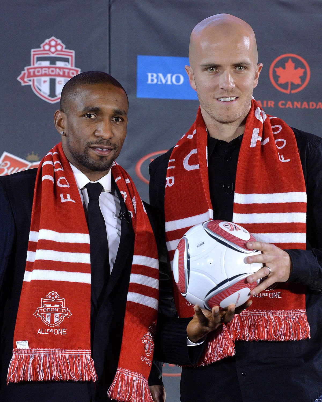 Toronto FC Introduce Jermain Defoe