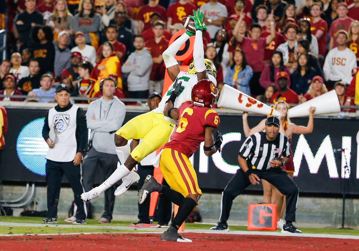 COLLEGE FOOTBALL: NOV 02 Oregon at USC