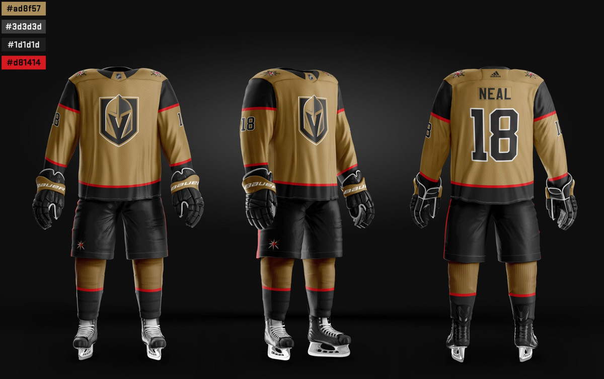 low cost 77c52 2b72e What could the Golden Knights' eventual alternate sweaters ...