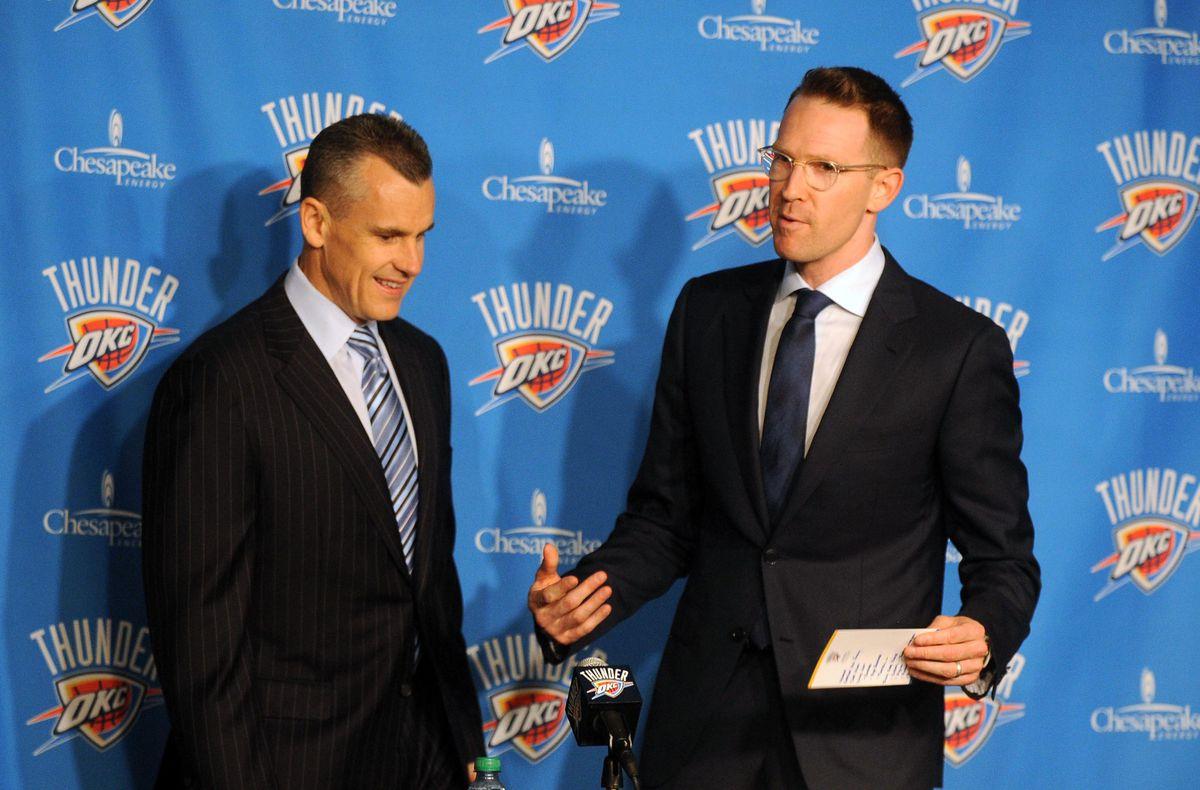 NBA: Oklahoma City Thunder Press Conference