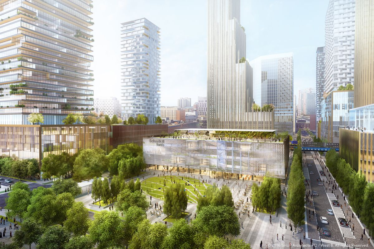3 5b Schuylkill Yards Project Hopes To Break Ground By Mid 2017 Curbed Philly