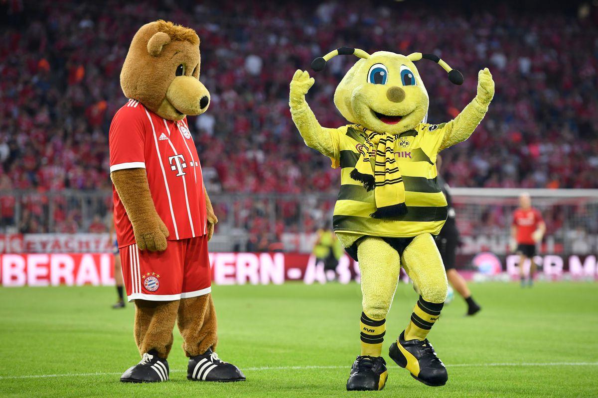 Bayern Munich Mascot Berni Arrested With Dortmund S Emma Bee After Wild Night Out Bavarian Football Works