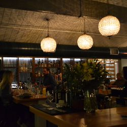 The Bar is the central, focal point of the restaurant