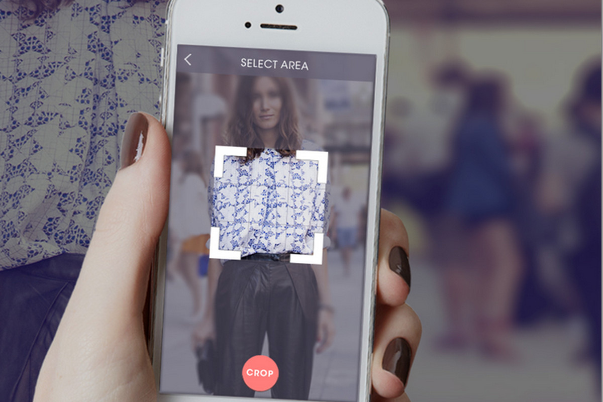 New shopping app ASAP54 uses image recognition technology to help you find clothing.