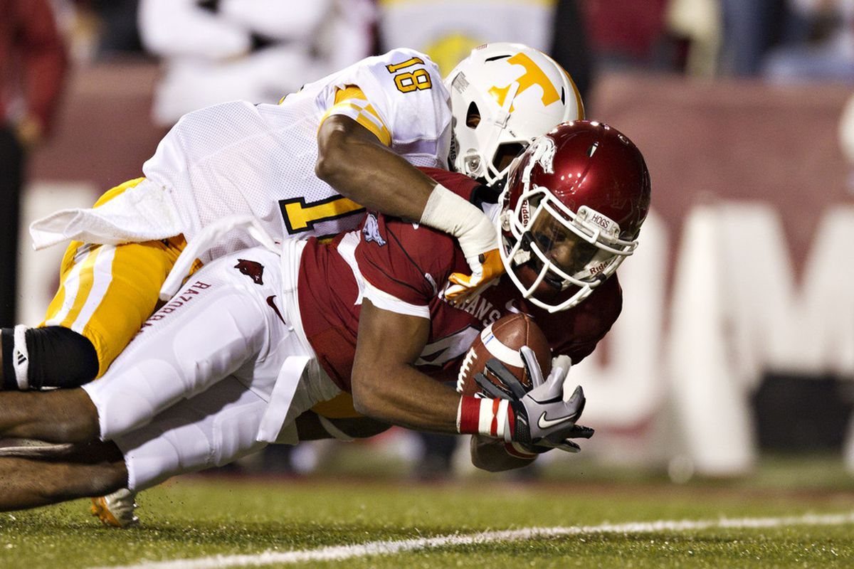 Tennessee has talent in the defensive backfield. But Lanier and the Vols can't have many more games like last year in Fayetteville.
