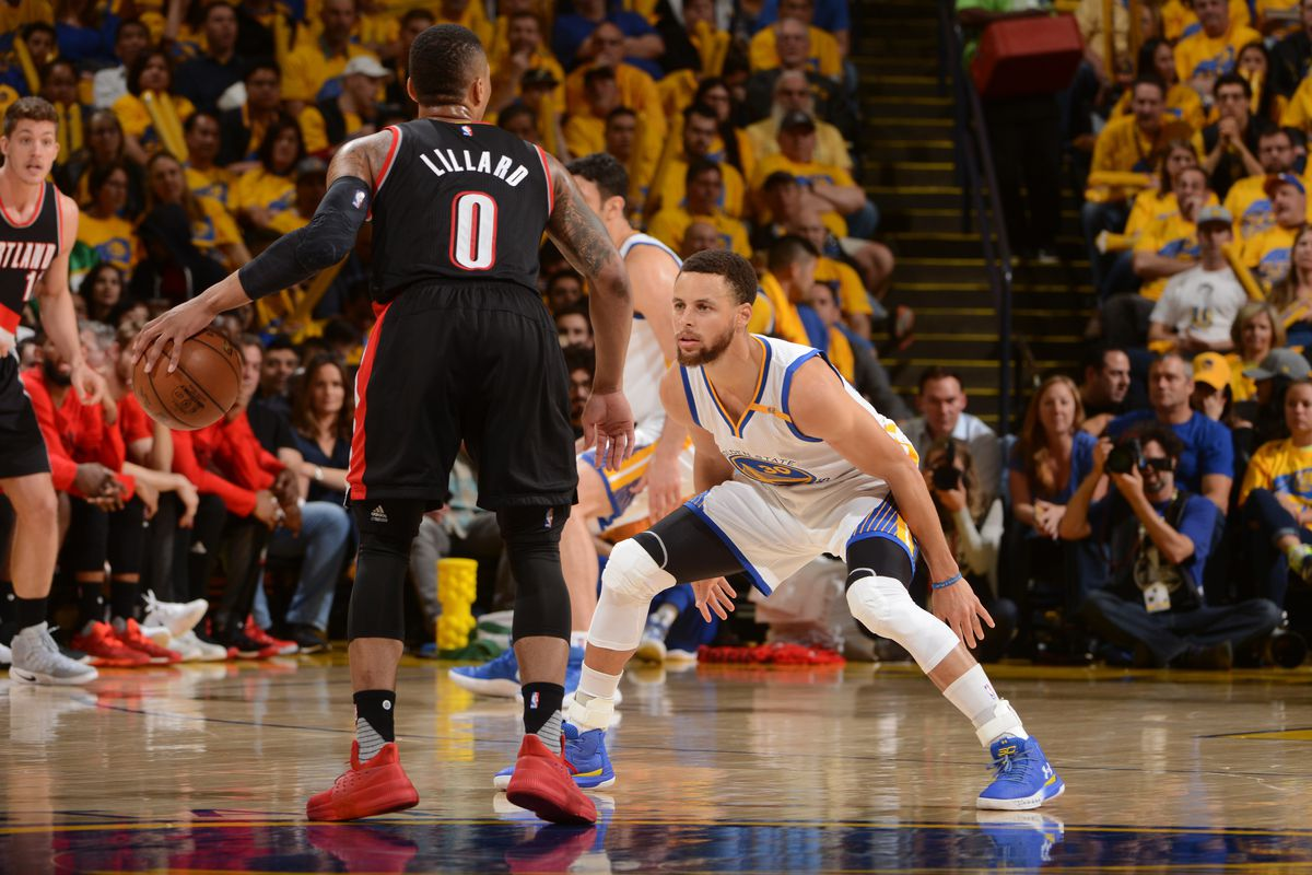free shipping 69b7f a7c69 Damian Lillard Will Play for Team Stephen Curry in All-Star ...