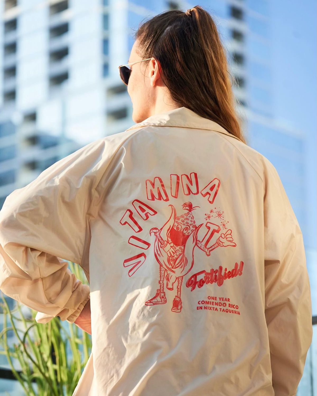 The jacket from Nixta