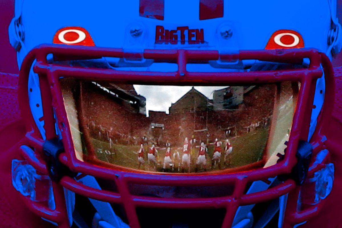 How The Dark Visor Defined College Football Banner Society