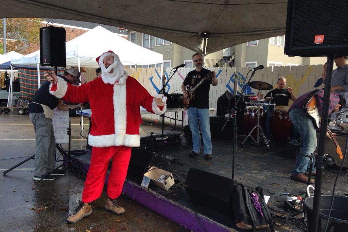 A questionable Santa at Frerestivus