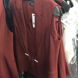 Vest in beetroot, $169 (was $325)