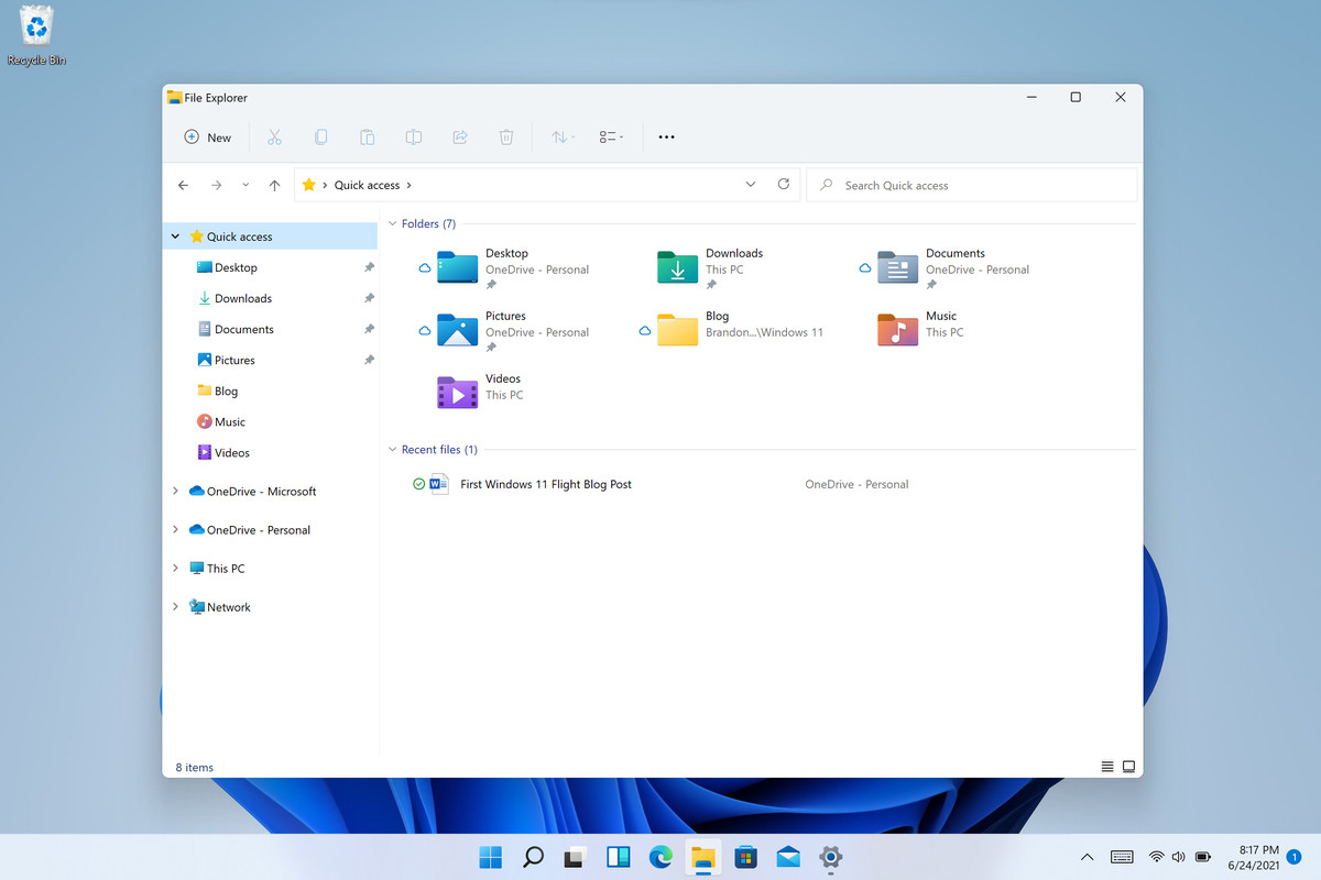 Microsoft releases Windows 11 preview, available to download now - The Verge