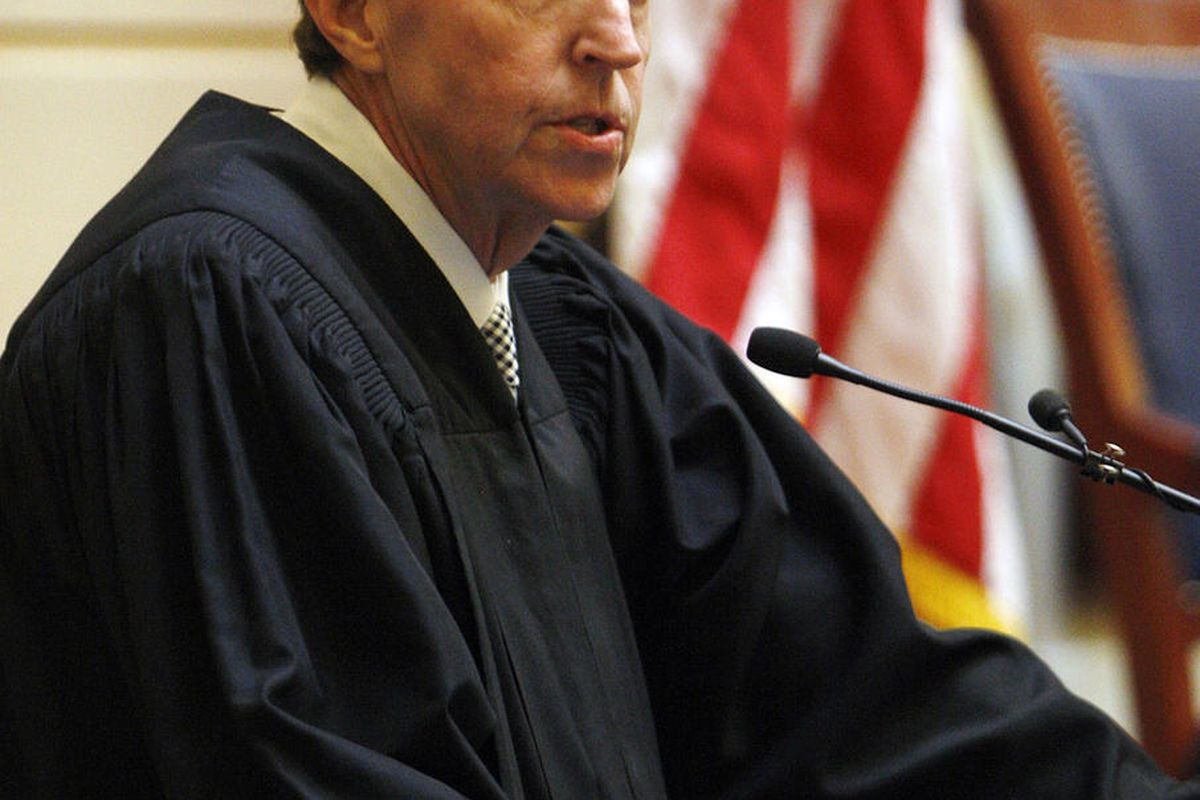 FILE: Utah Supreme Court Chief Justice Matthew B. Durrant gives the State of the Judiciary Address at the Senate in Salt Lake City, Monday, Jan. 26, 2015.