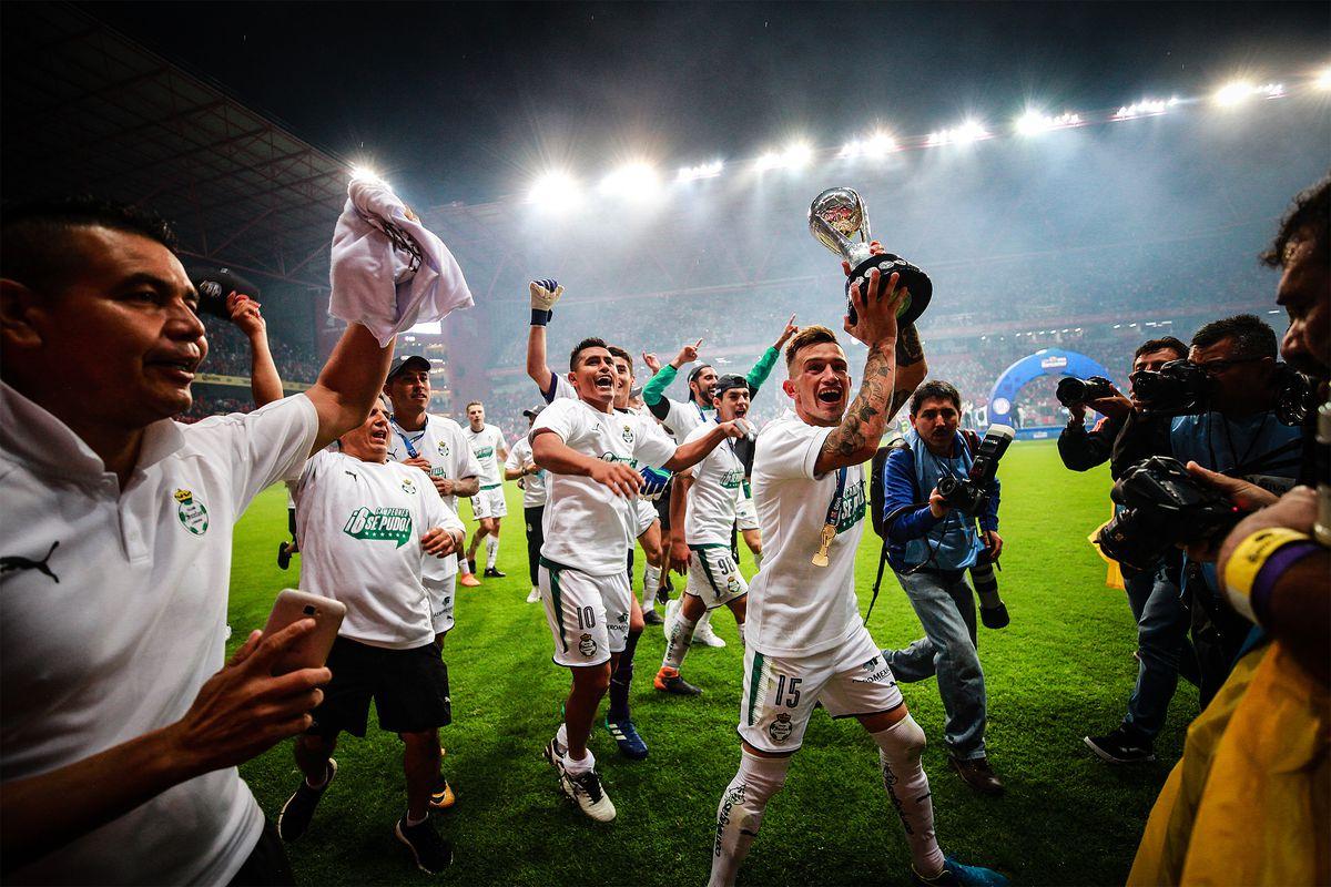 2018 Liga Mx Apertura Club Santos Laguna Vs Lobos Buap