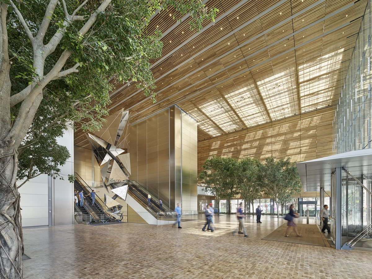 Stepping Inside The New Comcast Technology Center And Its