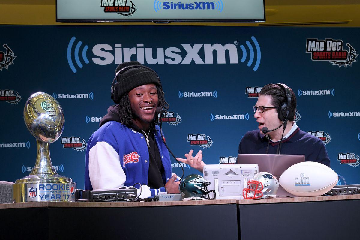 2017 Pepsi NFL Rookie Of The Year Winner Alvin Kamara