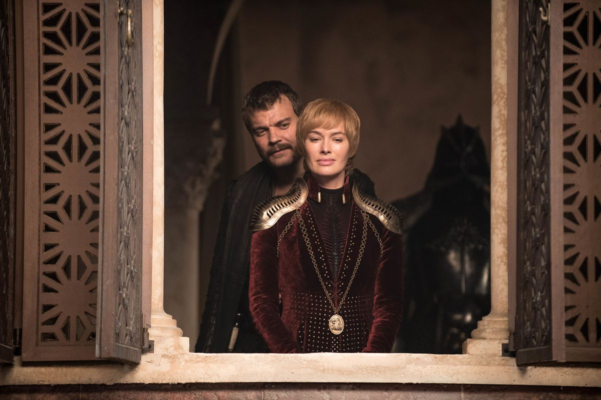 Image result for euron greyjoy and cersei