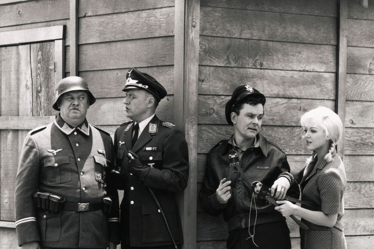 Scene from Hogan's Heroes Television Show