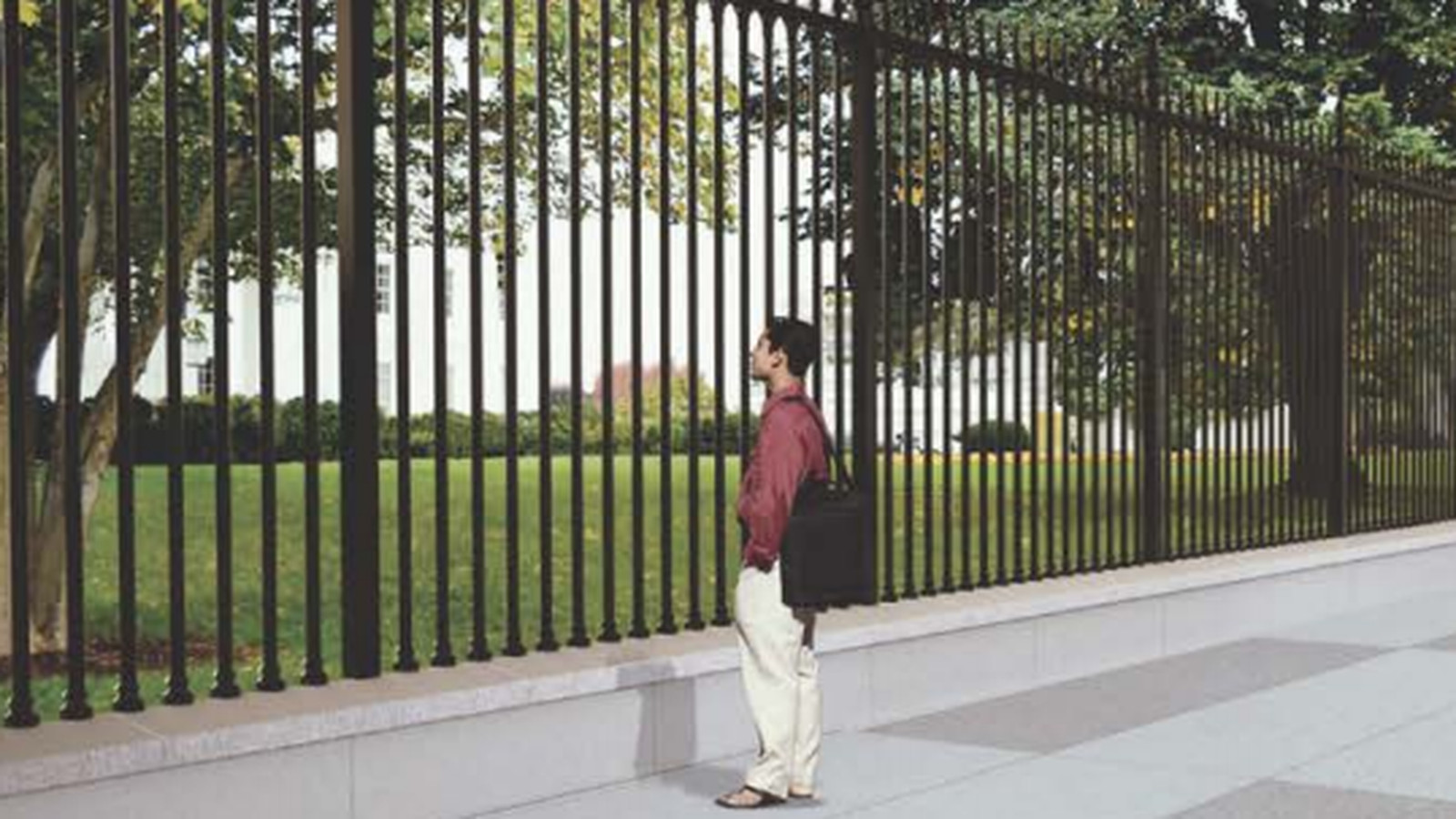 White House Perimeter Fence Preliminary Drawings