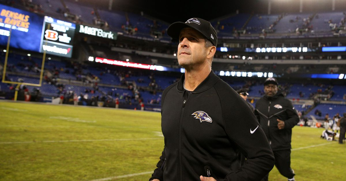 John Harbaugh Says The Nfl Didn T Do The Ravens Any Favors