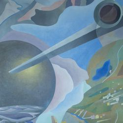'Synthesis of Aerial Communications' by Benedetta (1933-34)