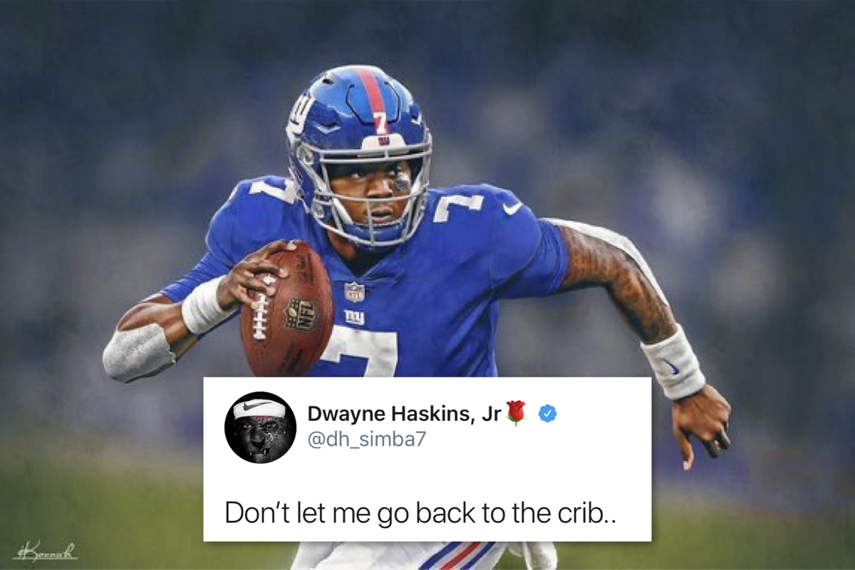 The New York Giants Drafting Dwayne Haskins Would Be The