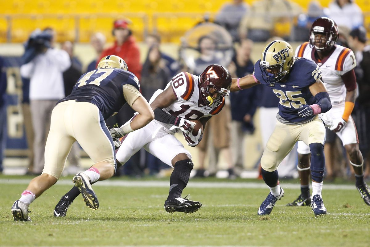 The Tech Pitt game in 2014, both teams need the win in 2015