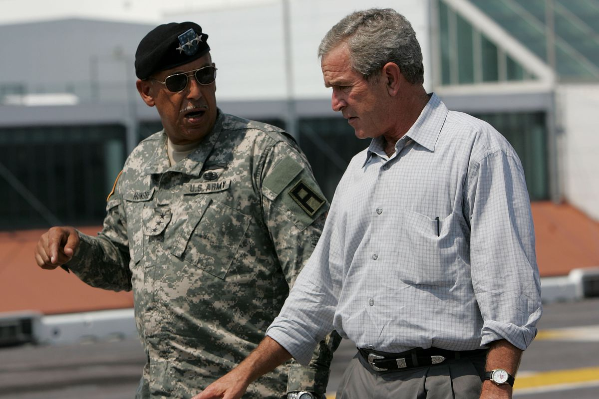 Recovery Efforts Continue In Aftermath Of Hurricane Katrina