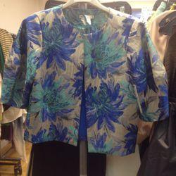 Cropped jacket (sample), $99