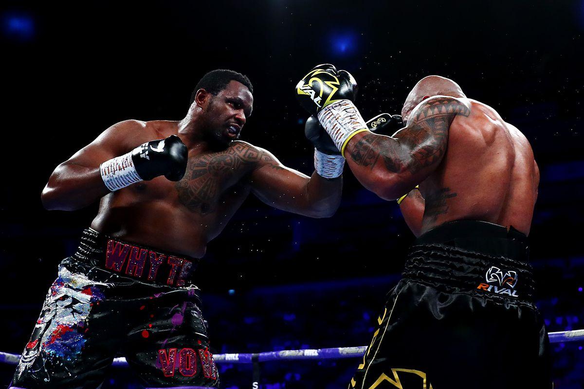 Dillian Whyte v Oscar Rivas - Heavyweight Boxing