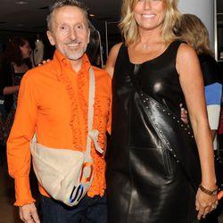 Simon Doonan and Patti Hansen