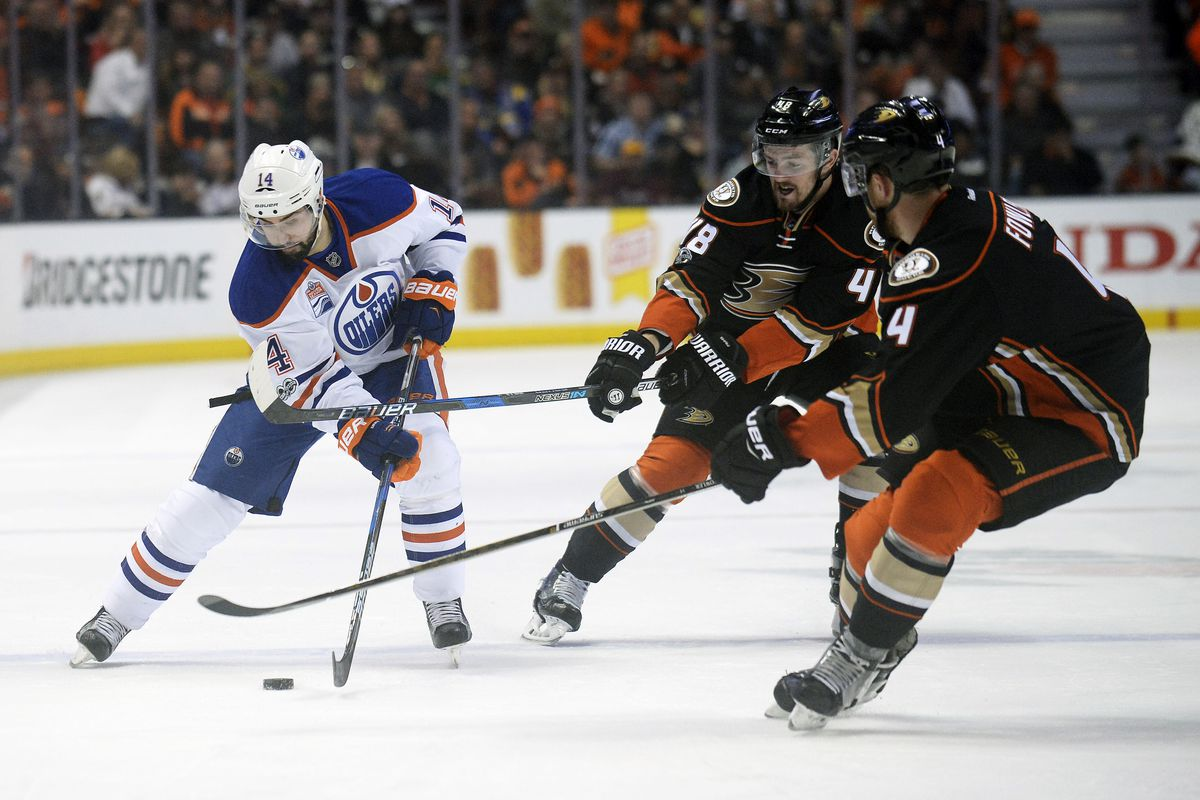 NHL: Stanley Cup Playoffs-Edmonton Oilers at Anaheim Ducks