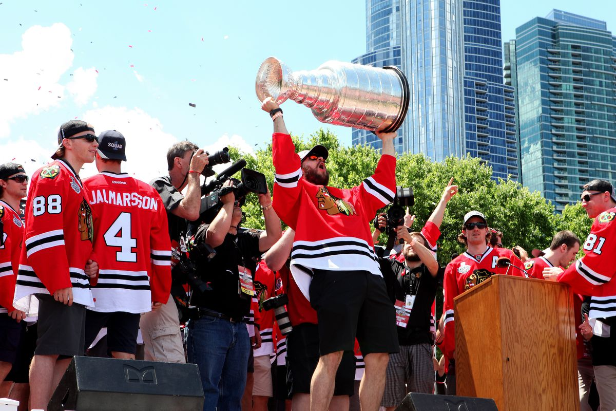 Chicago Blackhawks 2013 Stanley Cup Championship Rally