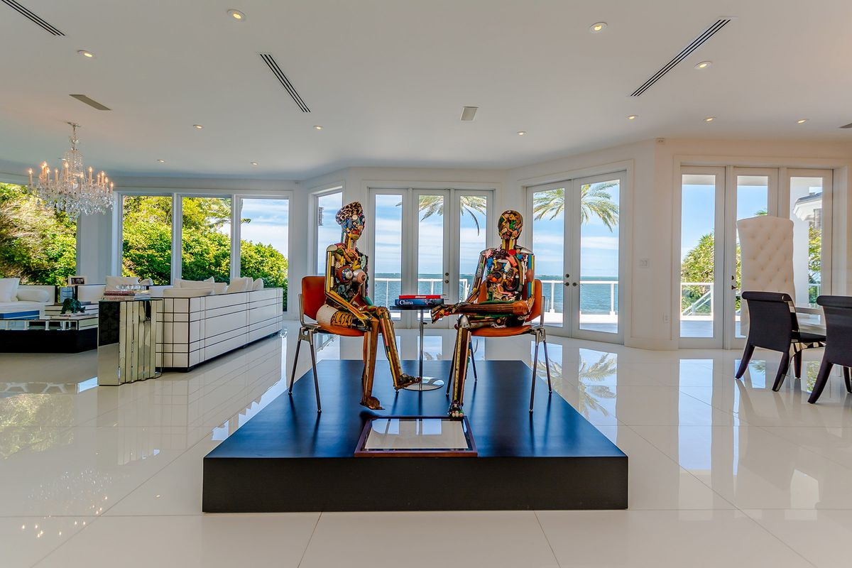 miami home with chanelthemed master for 20m curbed miami
