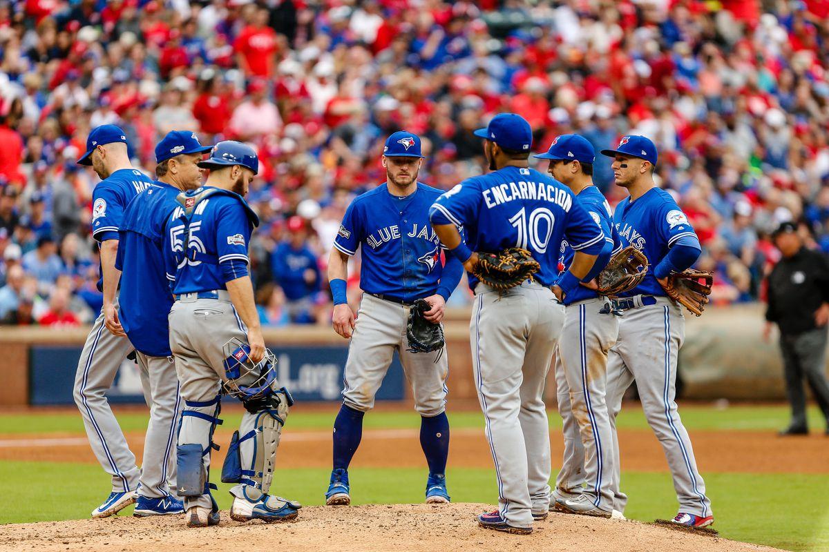 MLB: OCT 07 ALDS Game 2 - Blue Jays at Rangers