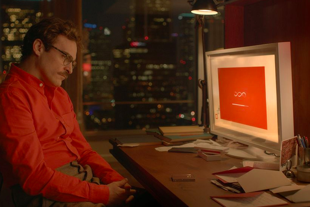 The science of her were going to start falling in love with in the new spike jonze film her a man falls in love with his operating system in some ways its a commentary on modern society and our increasingly sciox Gallery