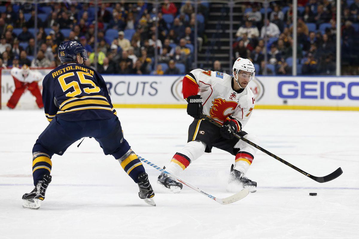 NHL: Calgary Flames at Buffalo Sabres