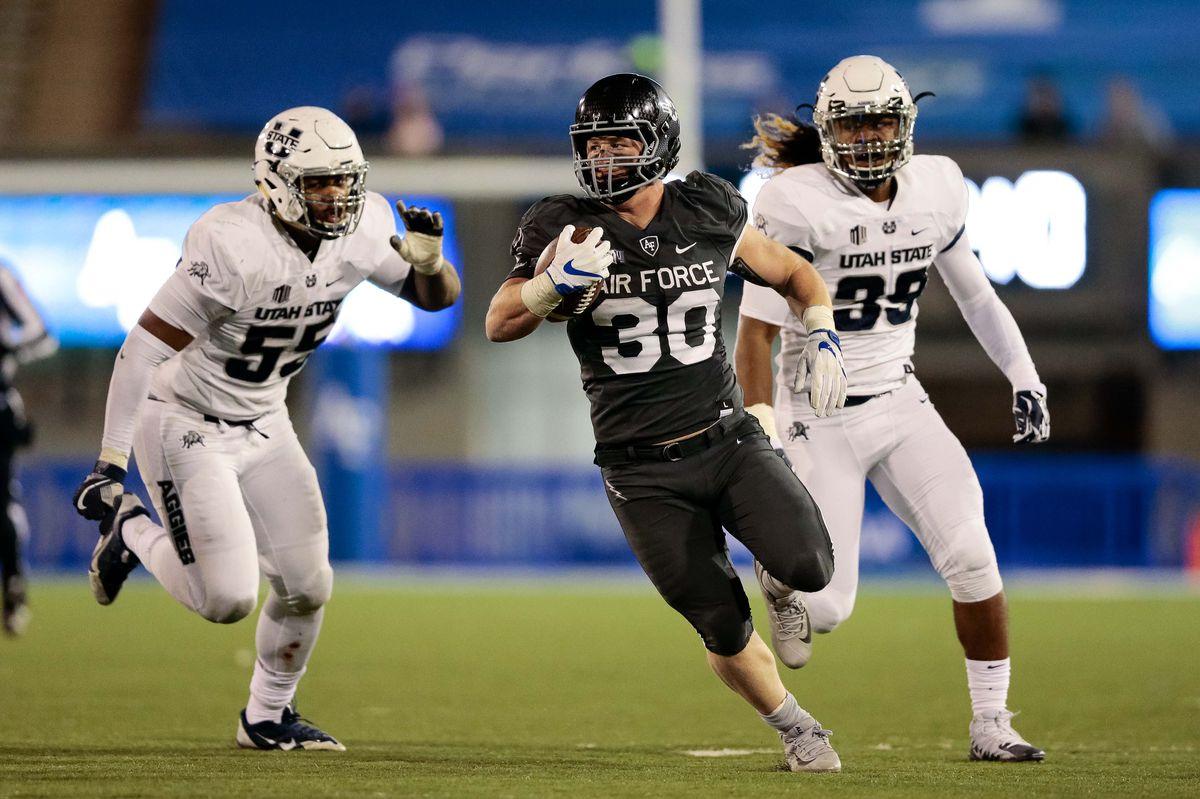 NCAA Football: Utah State at Air Force