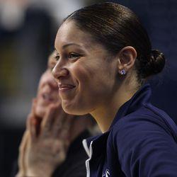 UConn assistant coach Marisa Moseley