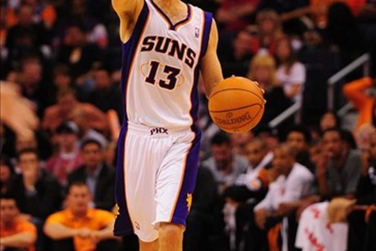Steve Nash is quite capable of making decisions about his own life, thank you.