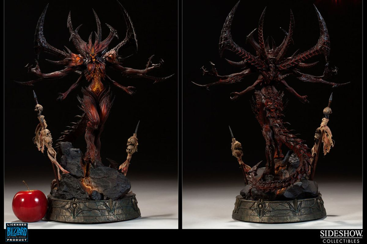 Diablo 3 Sculpture diablo 3 statue puts the devil in your hands - polygon