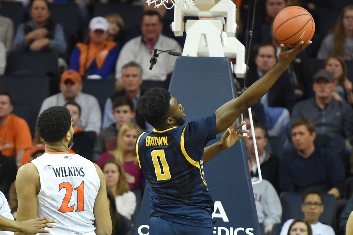 Jaylen Brown and the Golden Bears fell just short against No.5 Virginia on Tuesday night.