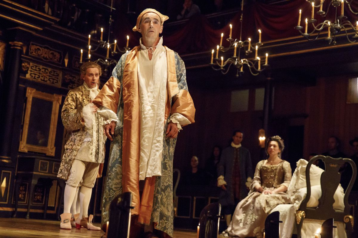 Mark Rylance in Broadway's Farinelli and the King