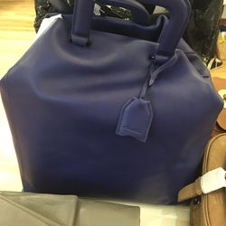 3.1 Phillip Lim Wednesday trapezoid tote in ultramarine, $327.50 (from $1,075)
