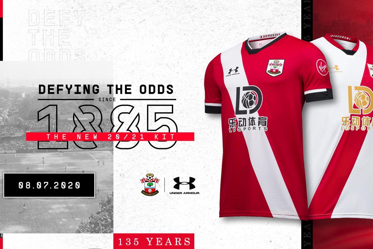 Southampton new kit 2020/21 Premier League shirt home away goalkeeper Saints