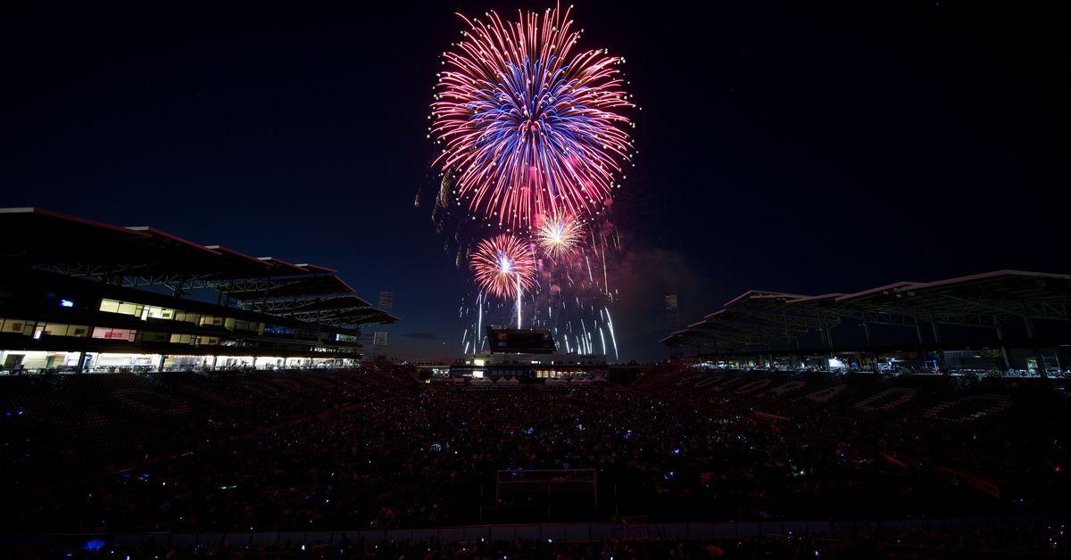 Major Link Soccer: 4th of July is soccer - Sounder At Heart