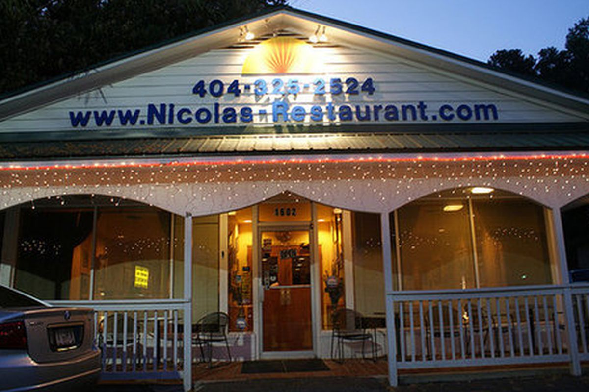Nicola's Restaurant.