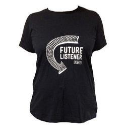 "Maternity tee, <a href=""http://shop.npr.org/future-listener-maternity-tee"">$25.</a>Image credit: NPR"