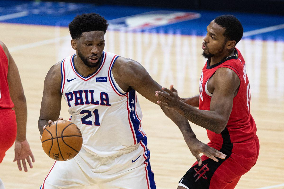 NBA: Houston Rockets at Philadelphia 76ers