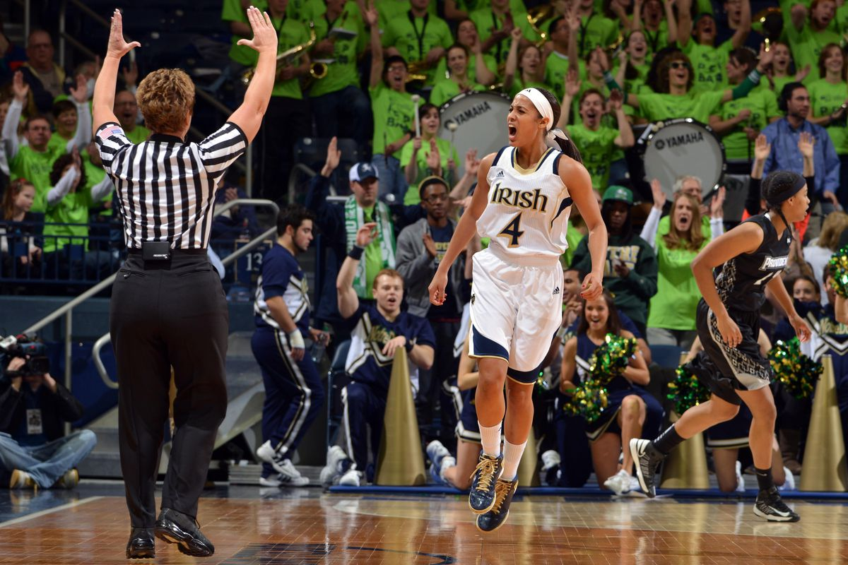 """Notre Dame Guard Skylar Diggins is considered to be the best guard in the 2013 Draft.  But is she really part of a """"Big Three"""" or is this more of a """"Big Two"""" or """"Big One"""" type of draft class?"""
