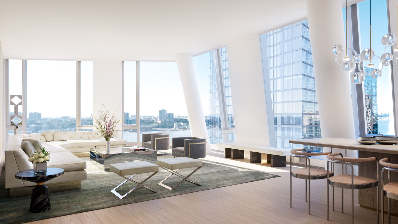 Upper West Side Complex Designed By Kpf Richard Meier